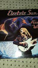New listing Electric Sun rare '80 Lp Fire Wind .Signed Uli Roth. Hard Rock Metal Scorpions