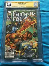 Fantastic Four v2 #1 - Marvel - CGC SS 9.6 NM+ - Signed by Jim Lee