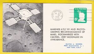 MARINER 6 FLY BY MARS CAPE CANAVERAL FL JULY 31 1969 SARZIN