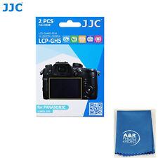 JJC LCP-GH5 hard polycarbonate LCD Guard Film Screen Protector Panasonic GH5 GH