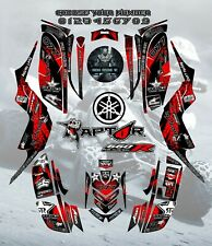 Yamaha Raptor 660-660R 2001-2005 full graphics kit sticker decals