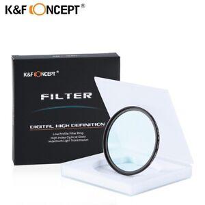 K&F CONCEPT Multi Coated Ultra Violet Lens Filter with Multi-Resistant Coating