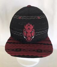 new styles afa19 d7087 Arkansas Razorback Zephyr Zukente Snapback Hat NEW