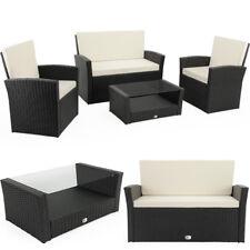 Salon de jardin 10 pièces Ensemble table et chaises avec table en verre