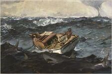 THE GULF STREAM 1899 winslow homer COLLECTORS POSTER marine art 24X36 RARE