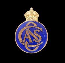 Civil Service Angling Society Lapel Badge