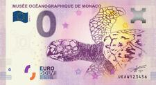 Billet Touristique 0 Euro - Musée océanographique Monaco - la tortue - 2020-3