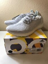 NEW Adidas Ultra Boost Uncaged LTD Triple Crystal White BB0773 Size 8.5 100% Aut
