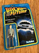 Reazione Figure RITORNO AL FUTURO GEORGE McFly Retrò Action Figure Giocattolo raccogliere