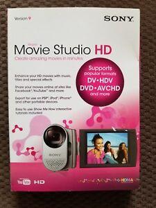 Sony Movie Studio 9 HD New in box