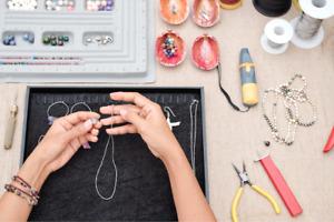 Single Strand Beaded Pearl Necklace Bracelet Restringing Repairing & Warranty