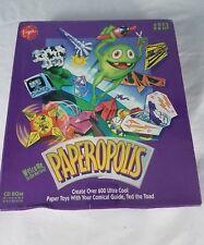 Paperopolis PC/MAC 1995 BIG BOX GAME BRAND NEW FACTORY SEALED VIRGIN GAMES