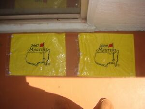 MASTERS PIN FLAG 2007 AND 2008 AVAILABLE