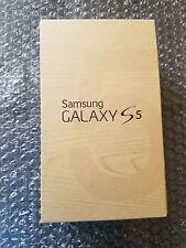New in Box Samsung Galaxy S5 Verizon Only White 16GB Clean ESN Light SBI