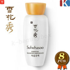 Sulwhasoo Essential Balancing Emulsion 15ml x 8EA (120ml) Korean Cosmetics