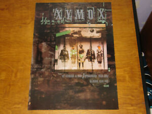 CLAN OF XYMOX - A DAY - ORIGINAL UK 4AD PROMO POSTER