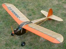 Model Airplane Plans (FF-RC): JUNIOR 60 • 5' Wingspan for 5-7cc KeilKraft (1947)