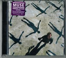 Muse Absolution CD 2003 English Rock Band Time Is Running Out