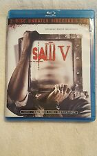 Saw V (Blu-ray Disc Only, 2009 Unrated Director's Cut)
