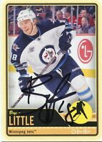 BRYAN LITTLE JETS AUTOGRAPH AUTO 12/13 O-PEE-CHEE OPC #301 *35501