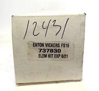 EATON VICKERS, FILTER ELEMENT KIT, 737830