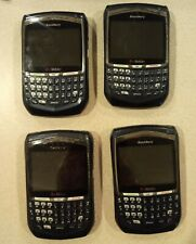 LOT OF 4 BlackBerry 8700g Phone (T-Mobile) NOT WORKING, FOR PARTS OR REPAIR ONLY