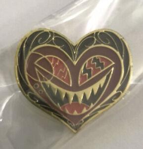 Limited Edition Hazbin Hotel Alastor Valentine Heart Enamel Pin