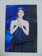 Suzy Bae Miss A 4x6 Photo Korean Actress KPOP autograph signed USA Seller A4