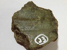 Jade of the Mountain Jade from California 5ozs great old stock 506