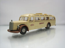 Brekina Mercedes 5000 Touring Bus Schauinsland With People 1/87 Scale