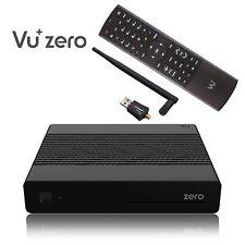 Vu+ Plus Zero E2 Linux Full HD H265 Récepteur Satellite Noir + 300Mbit Clé WLAN