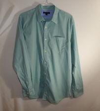 Banana Republic Mens Dress Shirt Green Soft Wash Slim Fit Size EXTRA LARGE XL