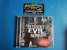 Resident Evil 3: Nemesis - PS1 - Brand New Sealed - Black Label !!