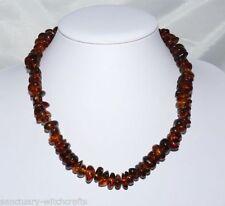 "Amber 18 - 19.99"" Strand/String Fine Necklaces & Pendants"