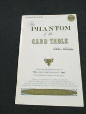 RARE Phantom Of The Card Table Eddie McGuire
