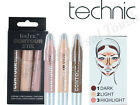 Technic Contour Stix Crayons Bronzer Highlighter Contouring Cream Set Kit