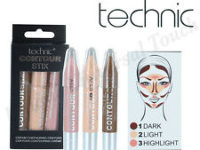 Technic Contour Stix Crayons Bronzer Highlighter Contouring Cream Set Kit