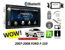 2007-2008 Ford F-150 Bluetooth touchscreen DVD CD USB CAR STEREO