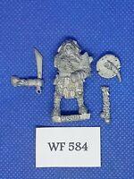 Warhammer Fantasy/Mordheim - Beastmen Warband Champion - Metal WF584