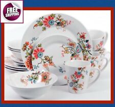 Set Dinnerware 16 Pc 32 Pc Dishes Plate Mug Modern Classic Vintage Floral New