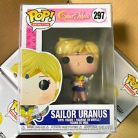 "Funko Pop Sailor Moon Wave 2 : SAILOR URANUS #297 Vinyl Figure ""MINT"""