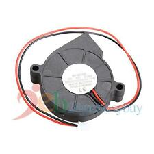 Micro Brushless DC Cooling Blower Fan 50mm Exhaust Fan 50mmx15mm 5015S 12V 0.06A
