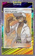 Prof. Euphorbe Full Art - SL1- 148/149 - Carte Pokemon Neuve Française