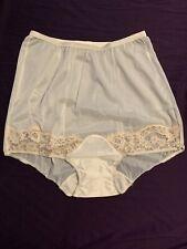 New listing #482 Nwot Vintage Sheer Vanity Fair Panty All Nylon Pillow Tab Mushroom Gusset 5