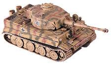 SHQ GV143 1/76 Diecast WWII German Panzer VI Tiger I Tank (Late War w/Zimmerit)