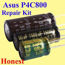 Asus P4C800 Motherboard Capacitor Repair Replacement Kit x 31pcs Japan Free Ship