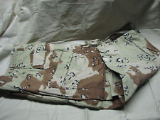 pants trouser cargo US 6 color desert camo Small x-short chocolate chip