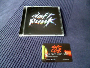One More Time = CD Daft Punk -  Discovery Album + Club Card Membership Daftcard