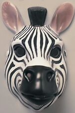 Zebra Animal Mask Halloween Cosplay Fancy Dress Child Half 3D NEW!!