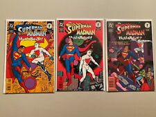 The Superman Madman Hullabaloo Set #1-3 8.0 VF (1997)